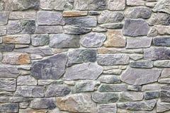Modern Stonewall Backround textur som dekoreras med mångfärgat N Royaltyfria Bilder