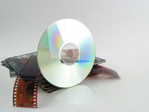 Modern storage. CD/DVD storage of pictures Stock Photo