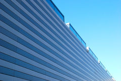Modern storage building Royalty Free Stock Photos