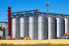 Modern storage buildings Stock Images
