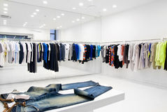 Modern Store Interior Royalty Free Stock Photo