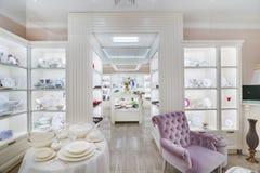 Modern store interior Stock Photo