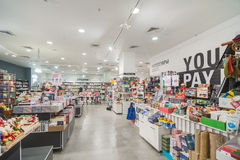 Modern store Stock Images