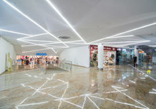 Modern store at shopping mall Royalty Free Stock Photo
