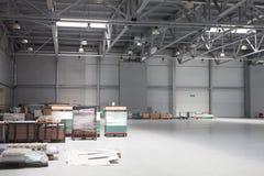 Modern storehouse Stock Photos