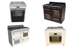 Modern stove Stock Photo
