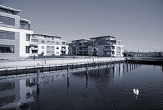 modern strand för condos Royaltyfria Foton