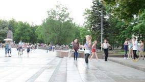 Modern street dancers Stock Photos