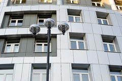 Modern street lamp Stock Photography