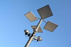 Modern street lamp Stock Images
