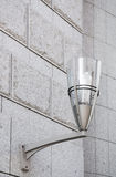 Modern street lamp on the wall. Stock Images