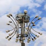 Modern street lantern Royalty Free Stock Photos