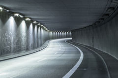 Modern Street Tunnel Royalty Free Stock Image