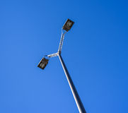 Modern Streetlight Royalty Free Stock Photos