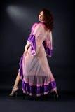 Modern strip dancer Stock Photography