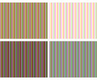 Modern stripes Royalty Free Stock Photography