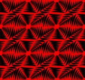 Modern strong contrasting abstract background in red and black. Seamless abstract background composed of uneven shapes. Vector eps10 Royalty Free Stock Images