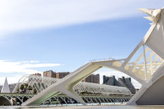 Modern structures in Valencia Stock Photography
