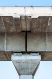 modern struktur för bro Arkivfoto