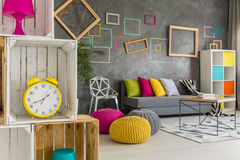Modern student home Royalty Free Stock Photography