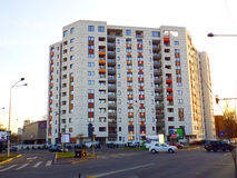 Modern student hostel Royalty Free Stock Photo