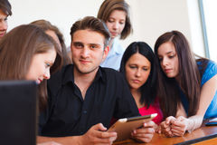 Modern Students Lifestyle Stock Images