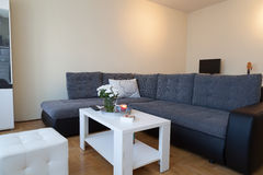 Modern studio apartment Stock Photography