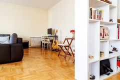 Modern studio apartment Royalty Free Stock Images