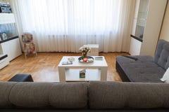 Modern studio apartment Royalty Free Stock Photo