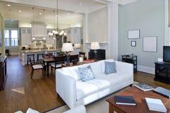 modern studio för lägenhet Royaltyfria Foton