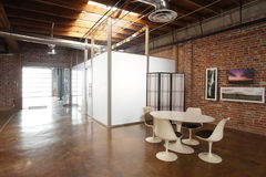 Modern studio loft Stock Photos