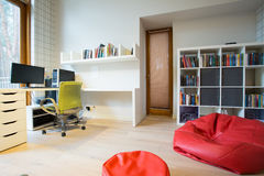 Modern study room Royalty Free Stock Photography