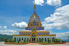 Modern stupa Stock Photography