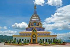 Modern stupa. At taton tenple Stock Photography
