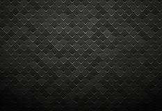 Abstract black metal tile background