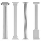 Modern style architectural classic columns Stock Photography