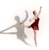 Modern style ballet dancer Stock Photos