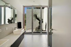 Modern style, bathroom Royalty Free Stock Photos