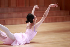 Modern style beautiful woman ballet dancer Royalty Free Stock Photography