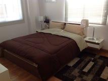 Modern style bedroom Stock Photos