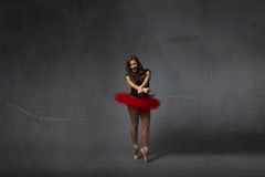 Modern style for a classical ballerina stock photography