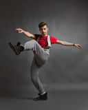 Modern style dance Stock Photos