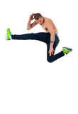 Modern style dancer. Stylish and young modern style dancer is posing Royalty Free Stock Photos