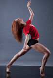 Modern style dancer Stock Photos