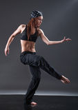 Modern style dancer Royalty Free Stock Images