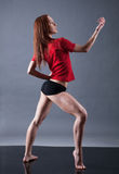 Modern style dancer. Stock Images