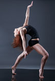 Modern style dancer. Royalty Free Stock Image