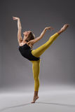 Modern style dancer Royalty Free Stock Photo