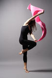 Modern style dancer Stock Images