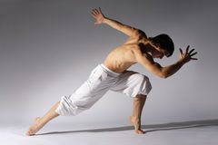 Modern style dancer. Stylish and young modern style dancer is posing Stock Photography